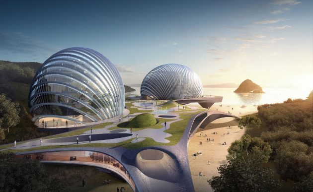 Hotel Nudibranch Concept by SpActrum in Wenzhou, China