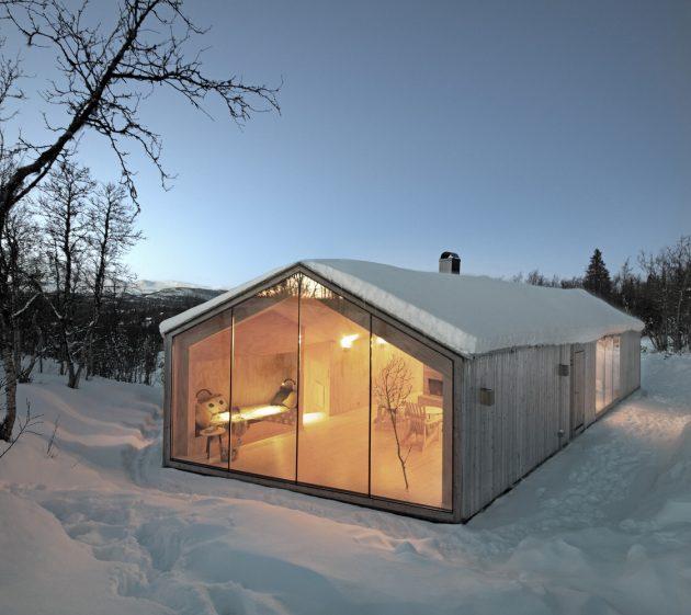 V-Lodge by Reiulf Ramstad Arkitekter in Ål, Norway